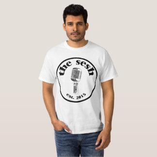 "Mannen de ""Witte T-shirt van sesh"" CREST"