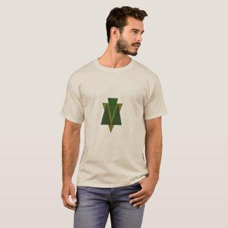 Mannen Driehoek T -t-shit T Shirt