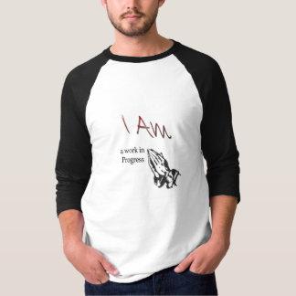 Mannen fundamentele 3/4 sleeveRaglan T Shirt