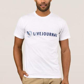Mannen Gepaste T's (Horizontaal Logo) T Shirt