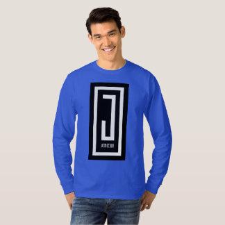 mannen lang het ontwerpt-shirt van de sleevej t shirt