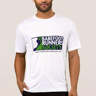 Mannen micro- T logo+URL en achterURL T Shirt