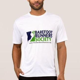 mannen microfiberlogo+url t shirt
