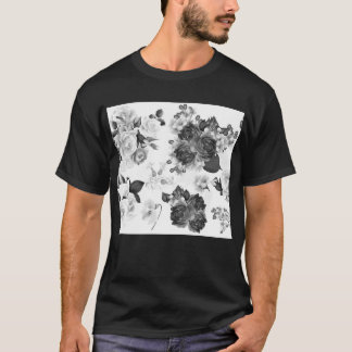Mannen ontwerperst-shirt met Volksbloemen T Shirt