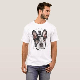 Mannen Streetwear: Koning Boston Terrier T Shirt