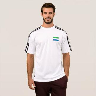Mannen Vlag van de T-shirt van het Sierra Leone