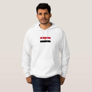 Mannen Vlag van Egypte Hoodie