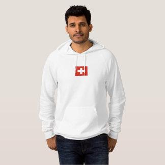 Mannen Vlag van Zwitserland Hoodie