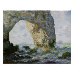 Manneporte door Claude Monet Print