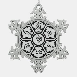 Mantra het Ornament van de Vlok van de Sneeuw