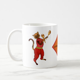 Maracas met Who van de Kat is een Verhuizer en een Koffiemok
