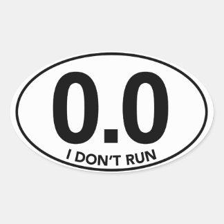 Marathon 0.0 stel ik geen Ovale Sticker in werking