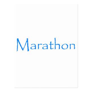 Marathon Briefkaart