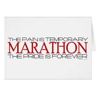Marathon - de Trots is voor altijd - Goed Geluk Briefkaarten 0