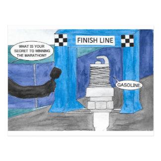 Marathon Sparkplug Briefkaart