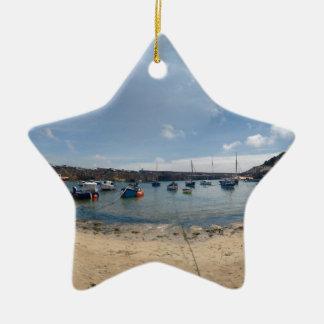 marazion haven keramisch ster ornament