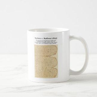 Marbury v. Madison, de 5 V.S. 137 (1803) Koffiemok