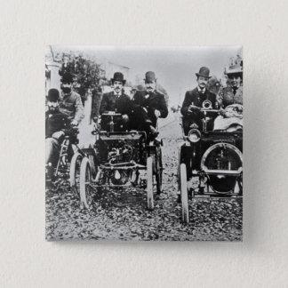 Marcel (d.1903) en Louis (1877-1944) Renault driv Vierkante Button 5,1 Cm