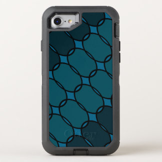 Marcella Blue OtterBox Defender iPhone 7 Hoesje