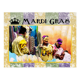 Mardi Gras Briefkaart