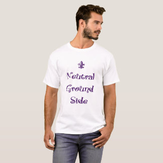 Mardi Gras - de Neutrale Kant van de Grond T Shirt