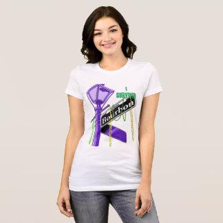 Mardi Gras - ik overleefde de Straat van de T Shirt