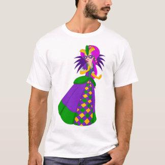 Mardi Gras Koningin Men's T-Shirt