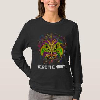 Mardi Gras Koningin Style Dark View Notes Plse T Shirt