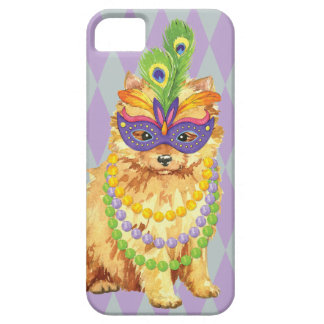 Mardi Gras Pomeranian Barely There iPhone 5 Hoesje