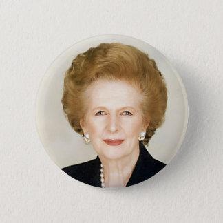 Margaret Thatcher Ronde Button 5,7 Cm
