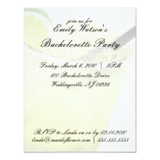 Margarita Bachelorette Party Invitations Kaart