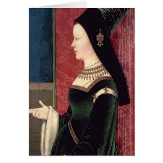 Maria van Bourgondië Wenskaart