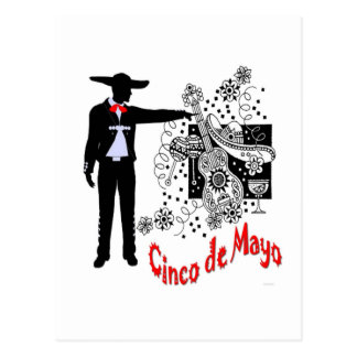 Mariachi-Cinco DE Mayo Briefkaart