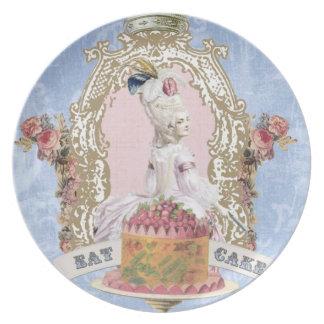 Marie Antoinette-eet het bord van de Cake…