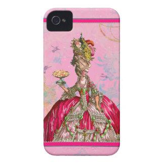 Marie Antoinette Pauw iPhone 4 Cases