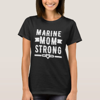 Mariene grafische mamma sterke vrouwen t shirt