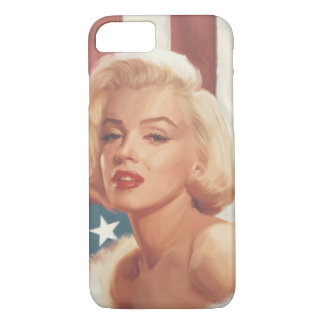 Marilyn Flag iPhone 7 Hoesje
