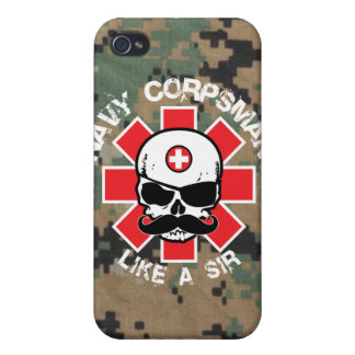 Marine Corpsman - zoals de Heer iPhone 4/4S Cover