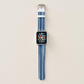 Marine & de Witte Band van het Horloge van Apple