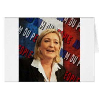 Marine Le Pen Briefkaarten 0