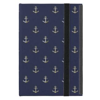 Marineblauw zeevaartanker iPad mini hoesje