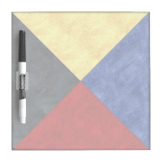 Maritieme Vlag van het Signaal van de waterverf de Whiteboard