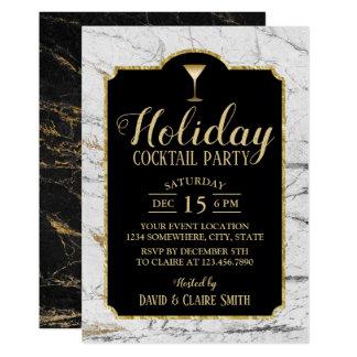 Marmer van de Cocktail party van de vakantie het Kaart