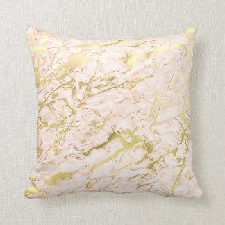 Marmeren Luxe van de Pastelkleur van het abstracte Sierkussen