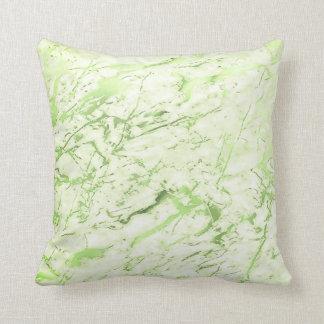 Marmeren Pastelkleur van Girly van het Groen van Sierkussen