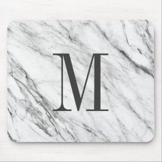 Marmeren Steen MousePad Met monogram Muismat