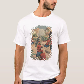 Marokkaanse artillerymen t shirt