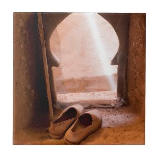 Marokkaanse Schoenen bij Venster Tegeltje