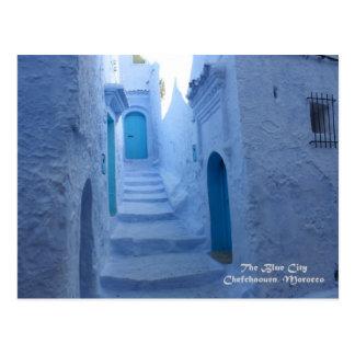 Marokko, Chefchaouen, de Blauwe Stad Briefkaart