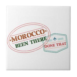 Marokko daar Gedaan dat Tegeltje